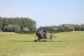 Photo: Overboelare Geraardsbergen 8th Tailwheel Meet 2013 08 04  Piper  Super Cub OL-L56