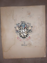 Photo: My grandmother's family crest resides with me. My father's mother - Adelaide Williams de Lugo