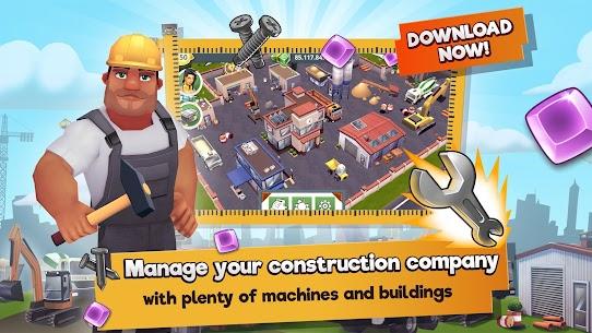 Construction Hero MOD APK 1.0.542 [Unlimited Diamonds + Cash] 1