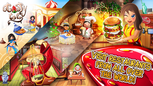 Tasty Tale: puzzle cooking game apkpoly screenshots 1
