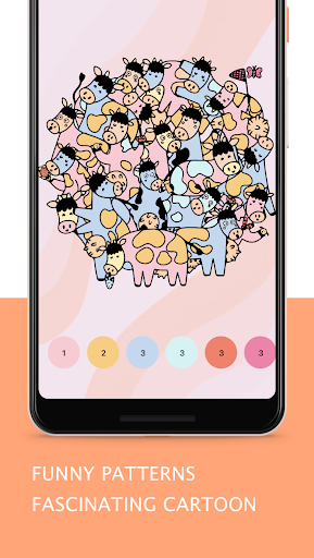 Tap Coloring - Color by Number, A Fun Art Game 1.0.2 screenshots 2