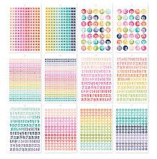 Simple Stories Carpe Diem A5 Planner Sticker Tablet - Numbers