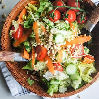 The BEST Crisp 'n Fresh Italian Green Salad.