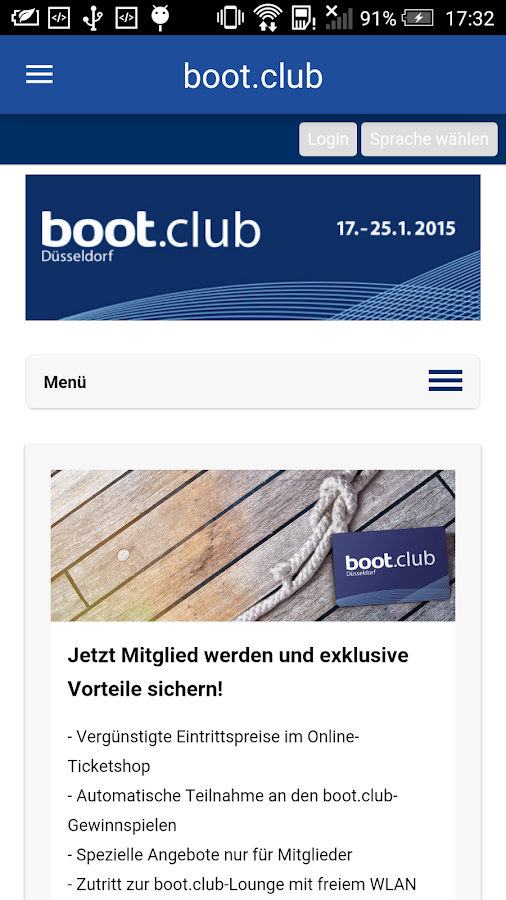 boot Düsseldorf – Screenshot