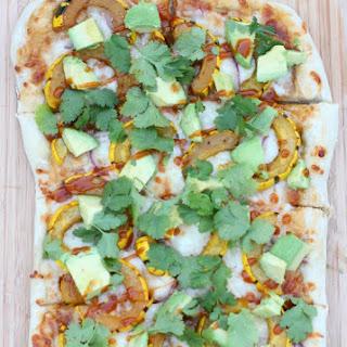 BBQ Delicata Pizza