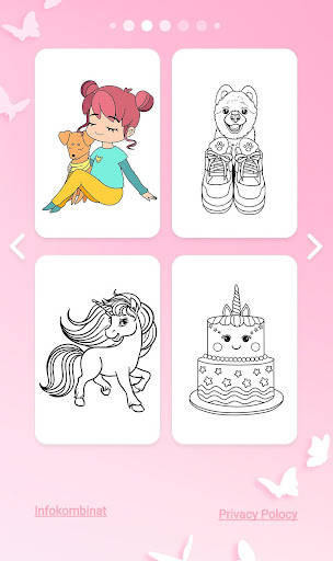 Girls Coloring Book - Color by Number for Girls 2.1.0 4