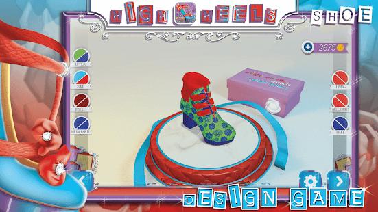High Heels Shoe Designer Game Screenshot Thumbnail