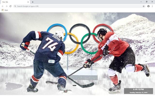 NHL Boston Bruins New Tab Theme