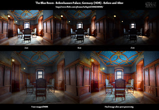 Photo: The Blue Room (HDR) - Before-and-After ( http://bit.ly/bna-blue )  This is the before-and-after comparison of the HDR I posted yesterday here: [ http://bit.ly/gp-blue ].  What's new? Are you using Photomatix for your HDR work? Then you may want to join our new community. I have set up a Photomatix Users group at group/as. Take a look at [ http://bit.ly/gp-pmusr ] to see how you can register. I will collect all the people in this group in a circle and share it with the public later today or tomorrow. Make sure you are in the group by then!