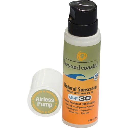Beyond Costal Natural Airless Pump Suncreen SPF 30: 8oz