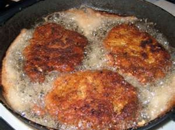 # 2 RECIPE: 1. Season Chops with salt and pepper 2. Place Flour in bowl, Dredge...