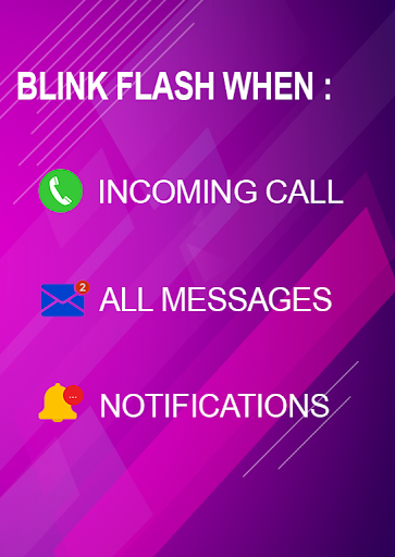 Flash blink on Call, all messages & notifications 8.9 screenshots 2