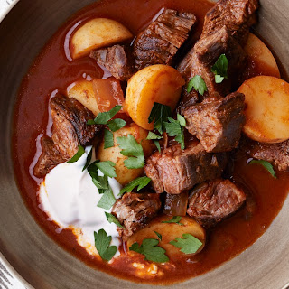 Beef Goulash with Potatoes Recipe