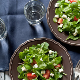 Mixed Green Salad With Feta Cheese Recipes