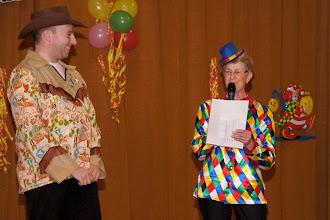 Photo: Begrüßung durch die 1. Vorsitzende, Maria Luxenburger
