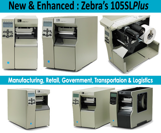 Máy in mã vạch Zebra 110SL Plus