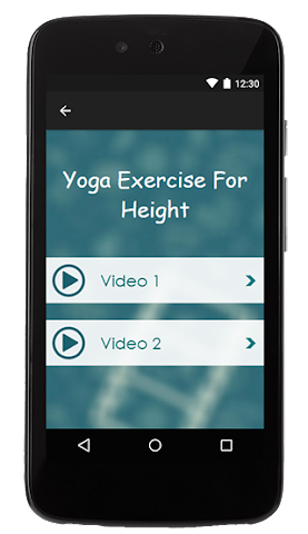 android Yoga Exercise For Height Screenshot 1
