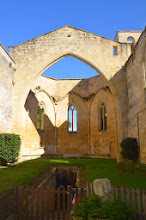 Photo: The ruins of the church in the monestary at Saint-Émilion.