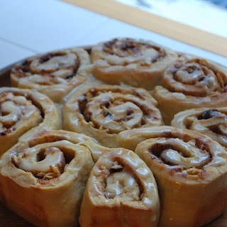 Cinnamon Rolls- Fresh From The Oven October challenge