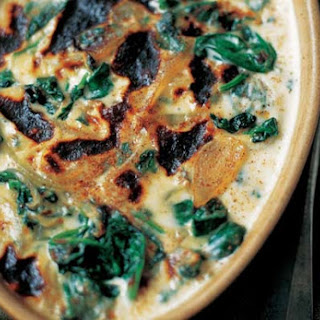 Baked Spinach Mornay