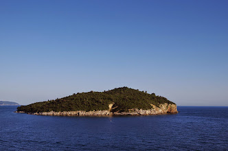 Photo: Walls of Dubrovnik, Island of Lokrum