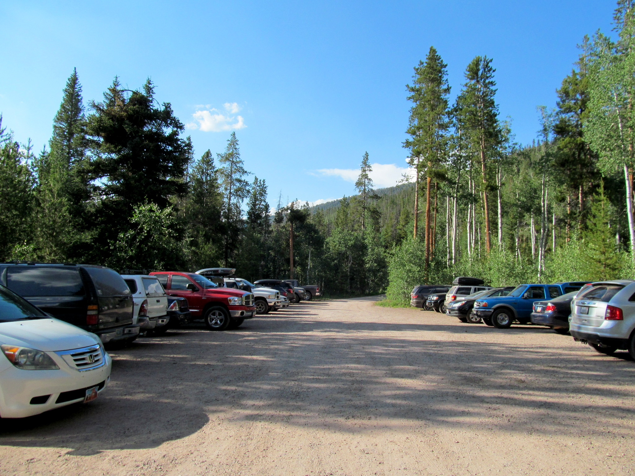 Photo: Christmas Meadows trailhead