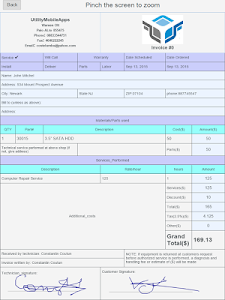 Invoices & Estimates screenshot 9