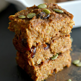 Pumpkin Walnut Quinoa Bars
