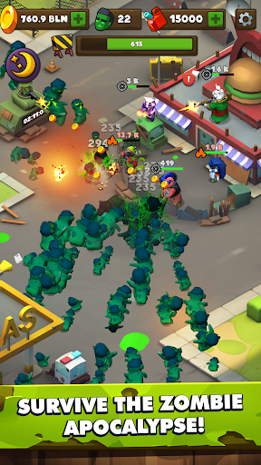 Clicking Dead u2014 idle zombie defence screenshots 4