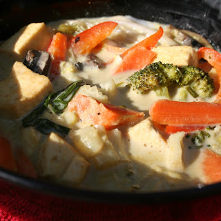 Green Curry with Tofu and Vegetables
