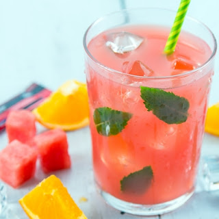 Hydrating Watermelon Smoothie.