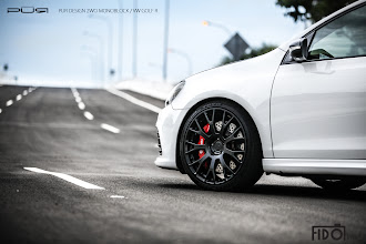 Photo: PUR WHEELS DESIGN 2WO MONOBLOCK http://www.ac.auone-net.jp/~ever_g/tire/index.html