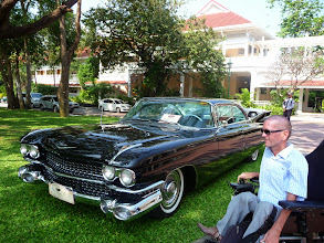 Photo: Big, Bigger, Biggest. An American Car. Cadillac?
