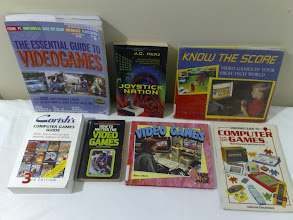 Photo: Books on video games