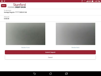Stanford FCU Mobile Banking- screenshot thumbnail