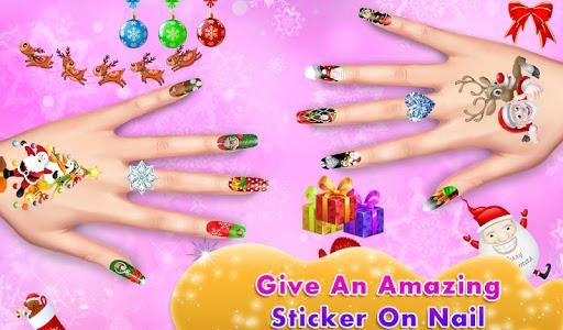 Christmas Doll Nail Art Salon 1.0.0 screenshots 1