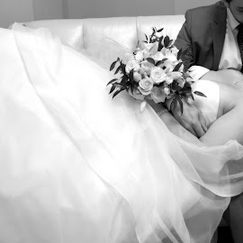 by Tina Burke - Wedding Bride & Groom