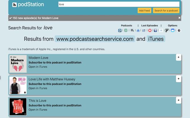 Free podcast Player for Chrome