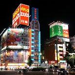 magical Kabukicho Red Light District in Shinjuku, Tokyo in Tokyo, Tokyo, Japan