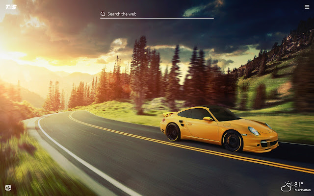 Porsche 911 HD Wallpapers New Tab Theme
