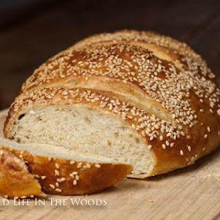 Semolina Sesame Artisan Bread.