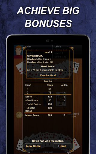 Gin Rummy  gameplay | by HackJr.Pw 20