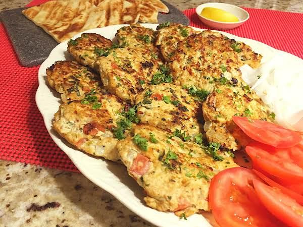 Chicken Chapli Kebabs Recipe