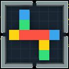 Cube & Blockartig Zeilen 3D icon