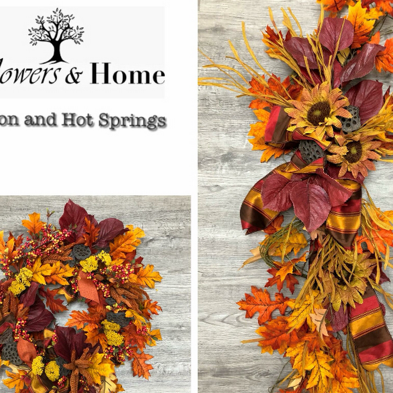 Flowers home hot springs ar florist in hot springs national park needing a new fall wreath flowers mightylinksfo