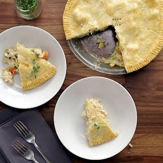 Rich & Creamy Chicken Pot Pie.