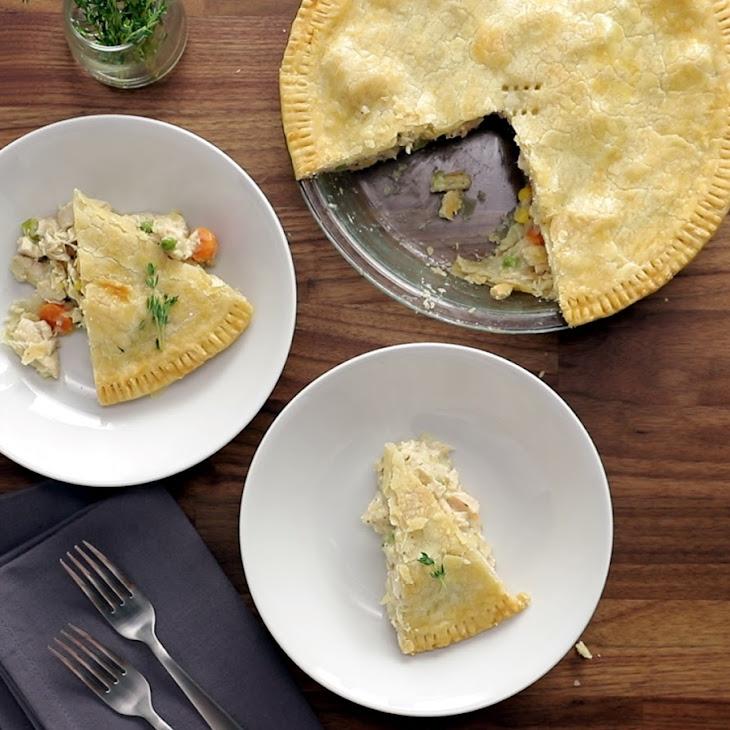 Rich & Creamy Chicken Pot Pie