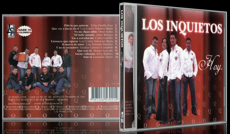 Los Inquietos - Hoy (2006) [MP3 @320 Kbps]