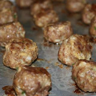 Basic Homemade Meatballs.