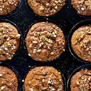 Sweet Potato & Walnut Muffins